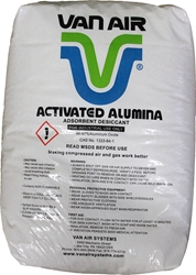 Van Air Activated Alumina 1/8 inch Desiccant 50 Pound Bag