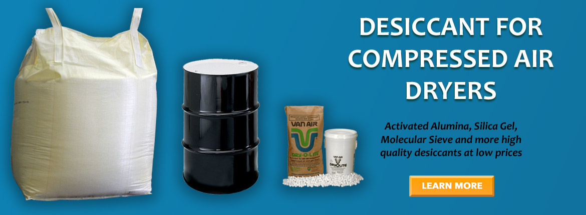 Desiccant for Compressed Air Dryers